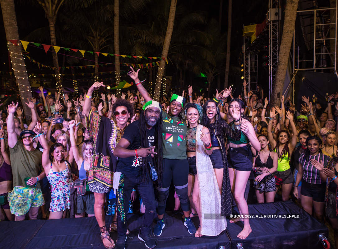 Revellers from all over the world attend the biggest Reggae music fiesta