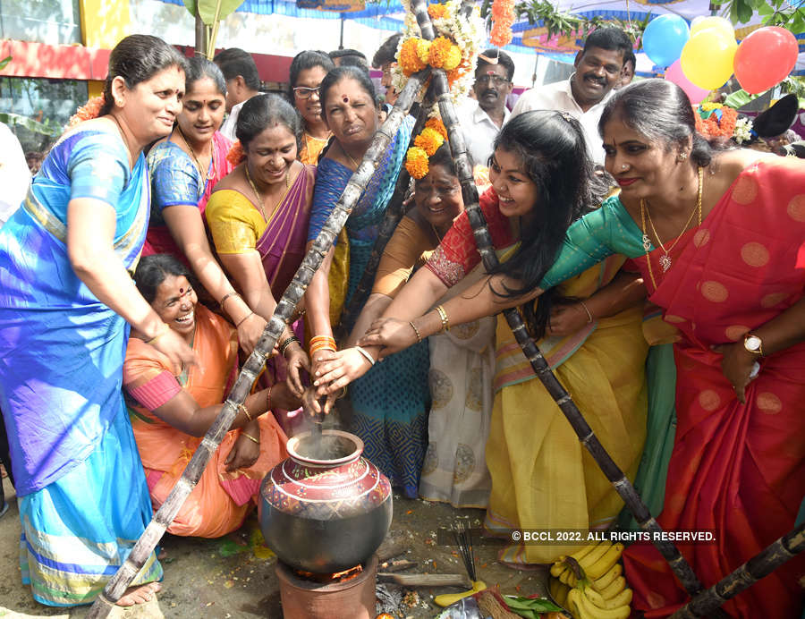 Vibrant pictures of Makar Sankranti and Pongal celebrations
