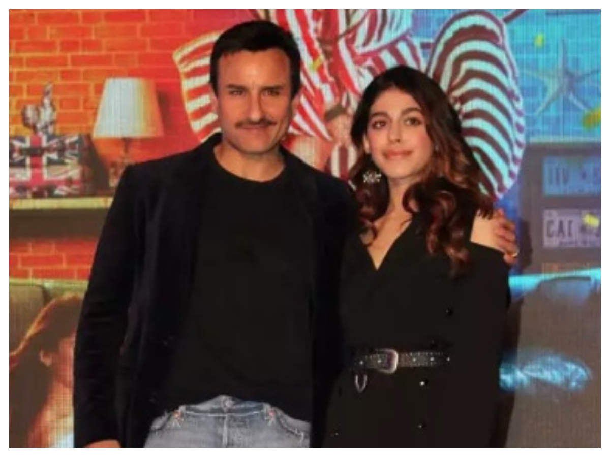 Saif Ali Khan compares Alaya F to Shah Rukh Khan, says he felt the same energy working with her - Bollywood celebs and their interesting statements  | The Times of India