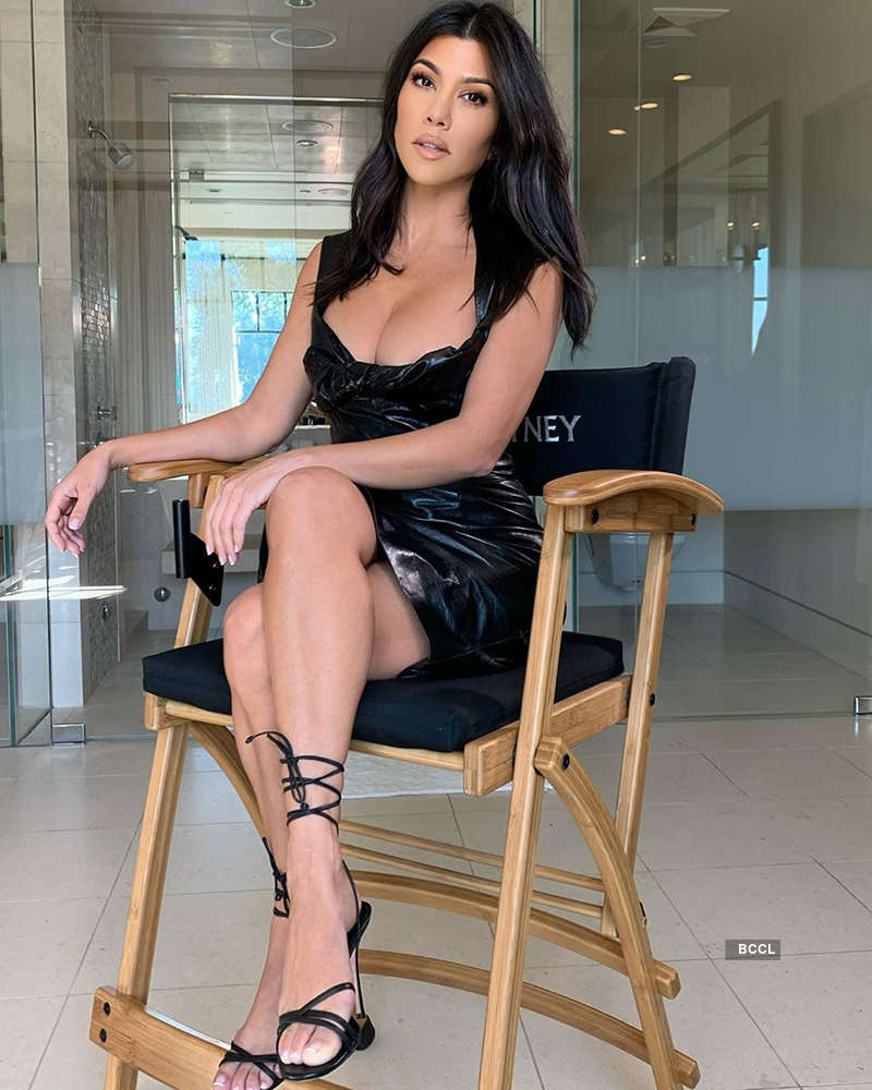 Kourtney Kardashian raises temperatures with her bewitching pictures