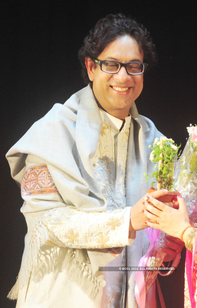 Celeb attend the 13th annual programme of South Kolkata Nrityangan