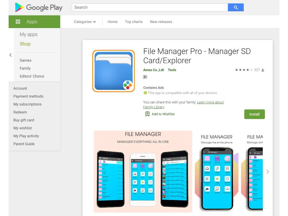 File Manager Pro - Manager SD Card/Explorer