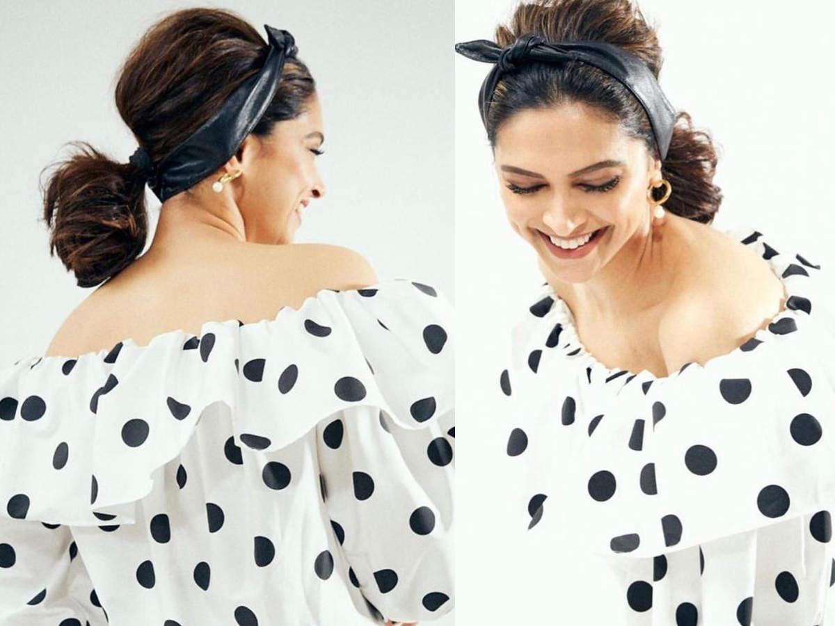 Deepika Padukone retro dress