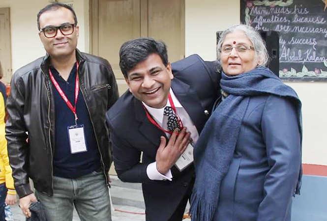 Amitabh Bahttacharya, Dr Priyadarshi Ranjan and Reeta Khanna (BCCL)