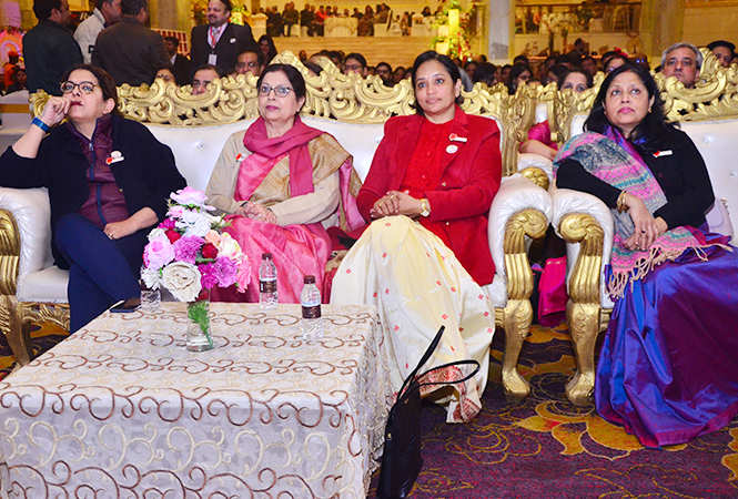 Mala Mehra, Manjeet Batra, Shermila Singh and Swati Verma (BCCL)