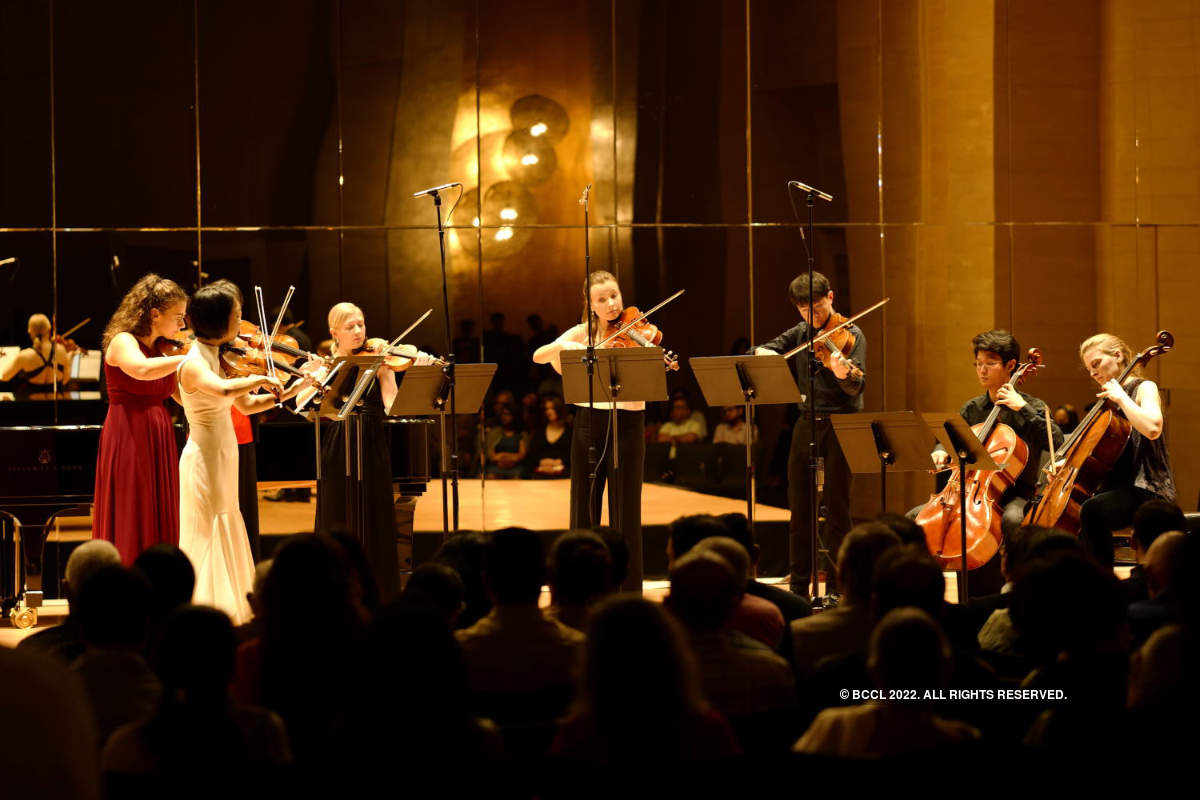 International musicians enthrall city folk with classical music