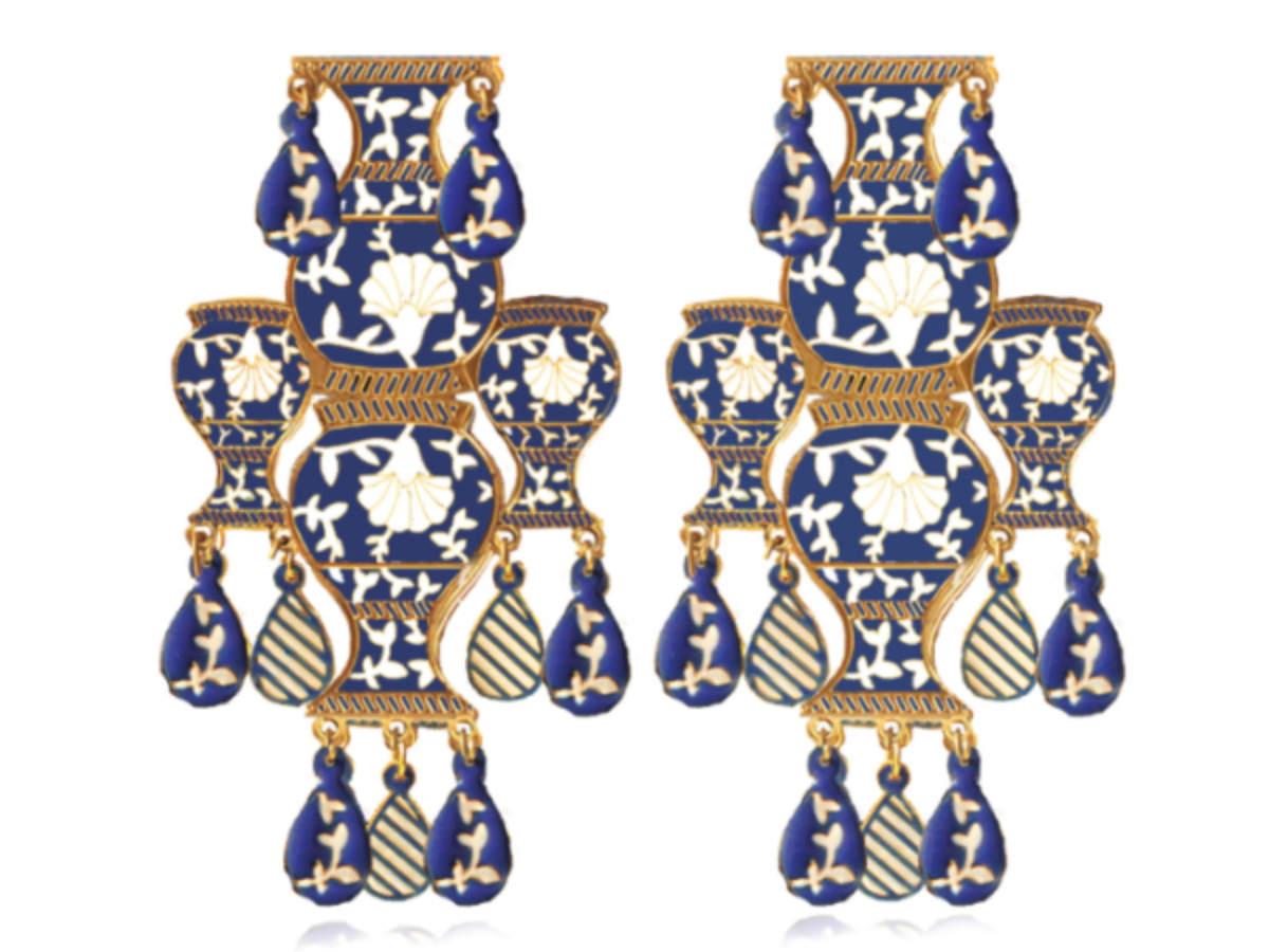 Mrinalini Chandra earrings
