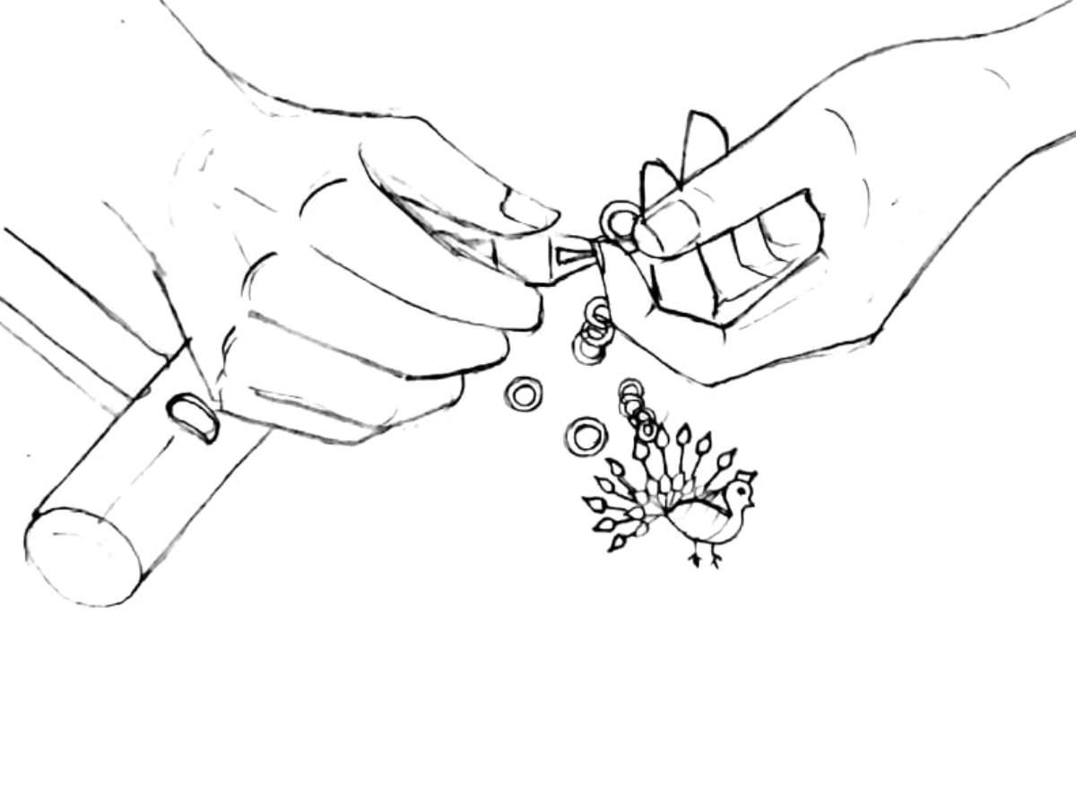Mrinalini Chandra handmade jewellery