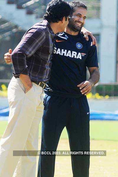 Brian Lara in Bangalore