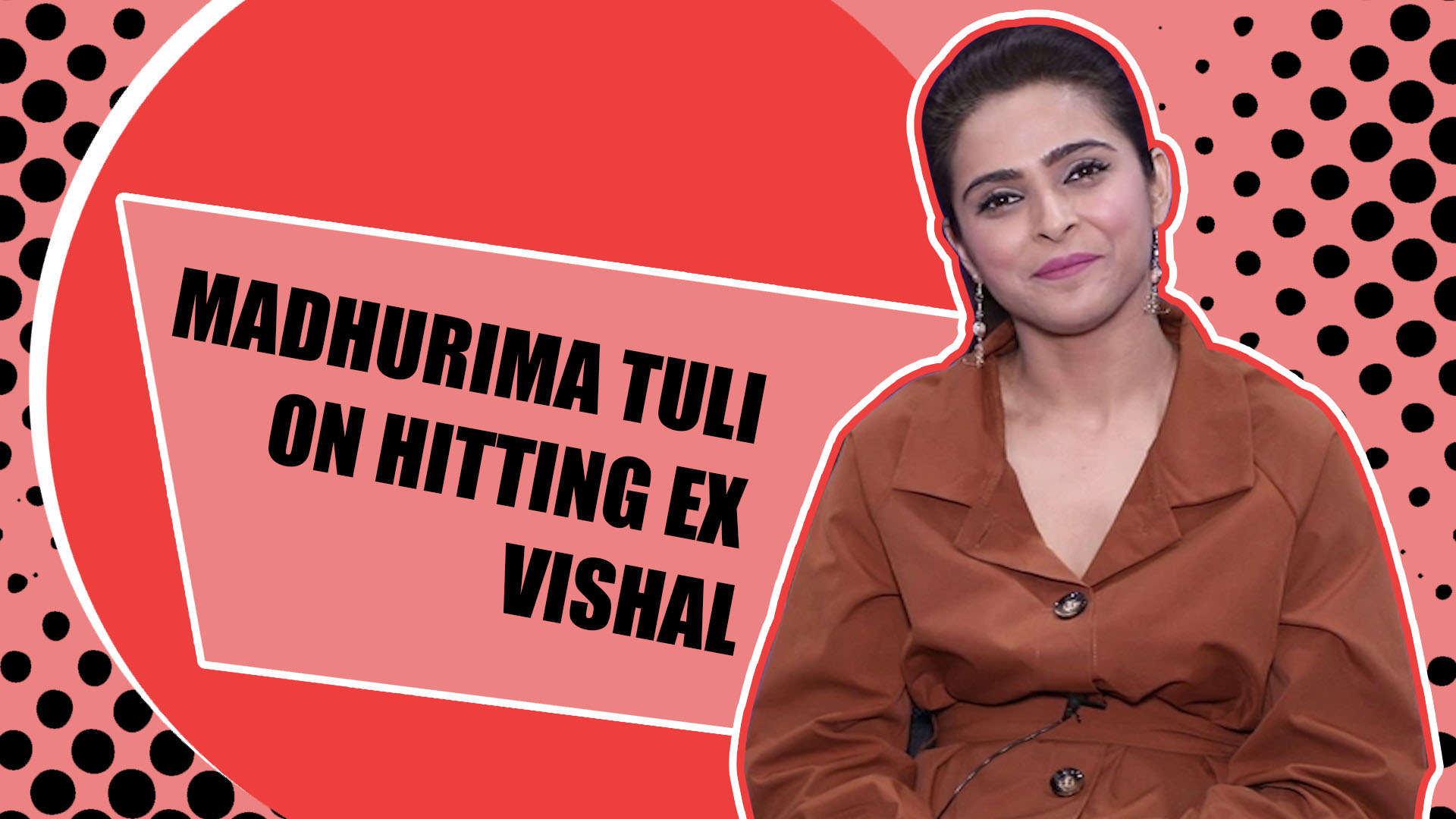 BB 13's Madhurima Tuli on hitting Ex Vishal: Even he has hit me in the past, this time I reacted