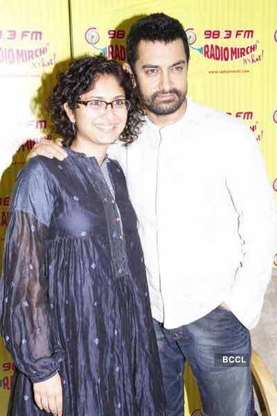 Aamir-Kiran on Radio Mirchi