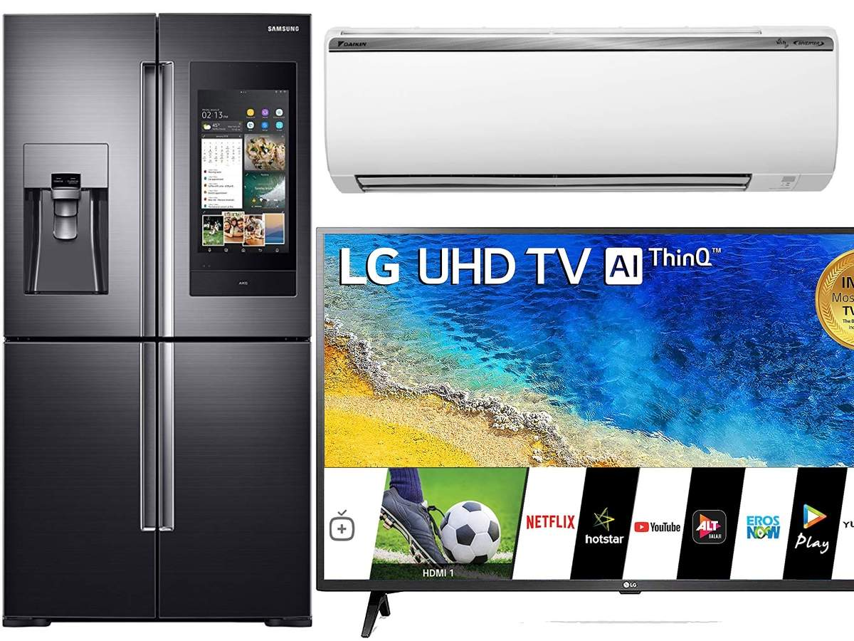​Amazon sale: 15 smart TVs, ACs and refrigerators available at up to Rs 76,300 discount
