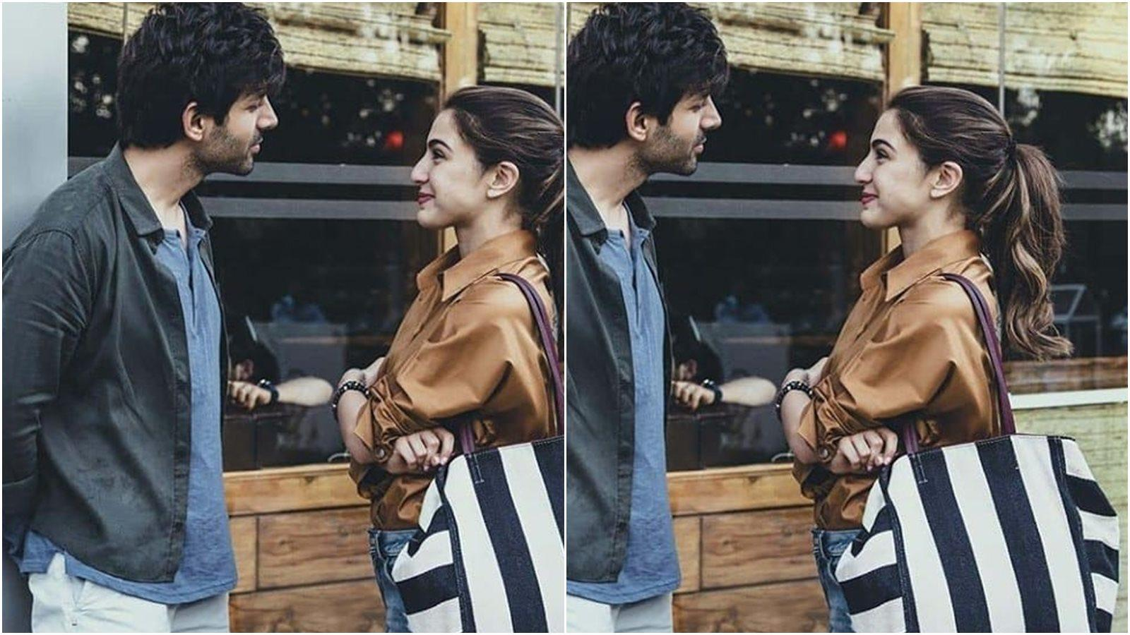 Sara Ali Khan and Kartik Aaryan can't take their eyes off each other in viral pic, fans want them to get back together