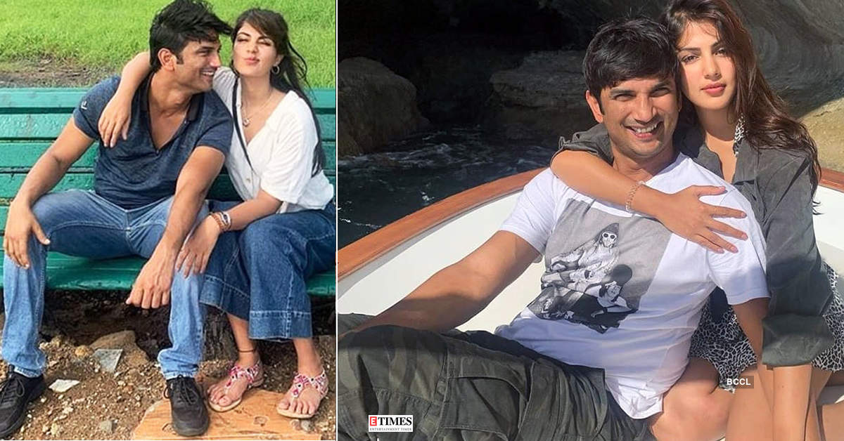 New loved-up pictures of Sushant Singh Rajput & Rhea Chakraborty are breaking the internet…