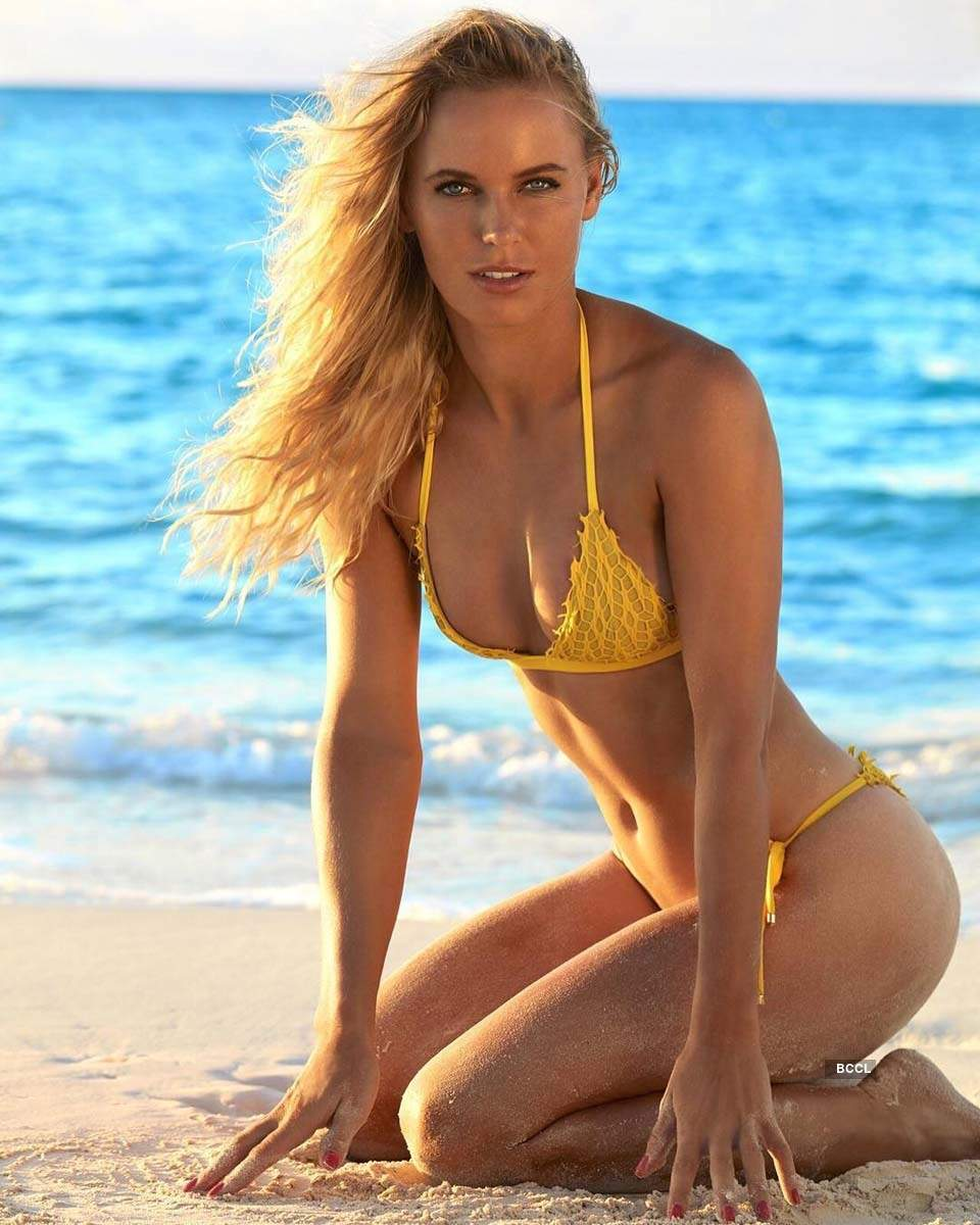 Stunning pictures of retiring tennis player Caroline Wozniacki