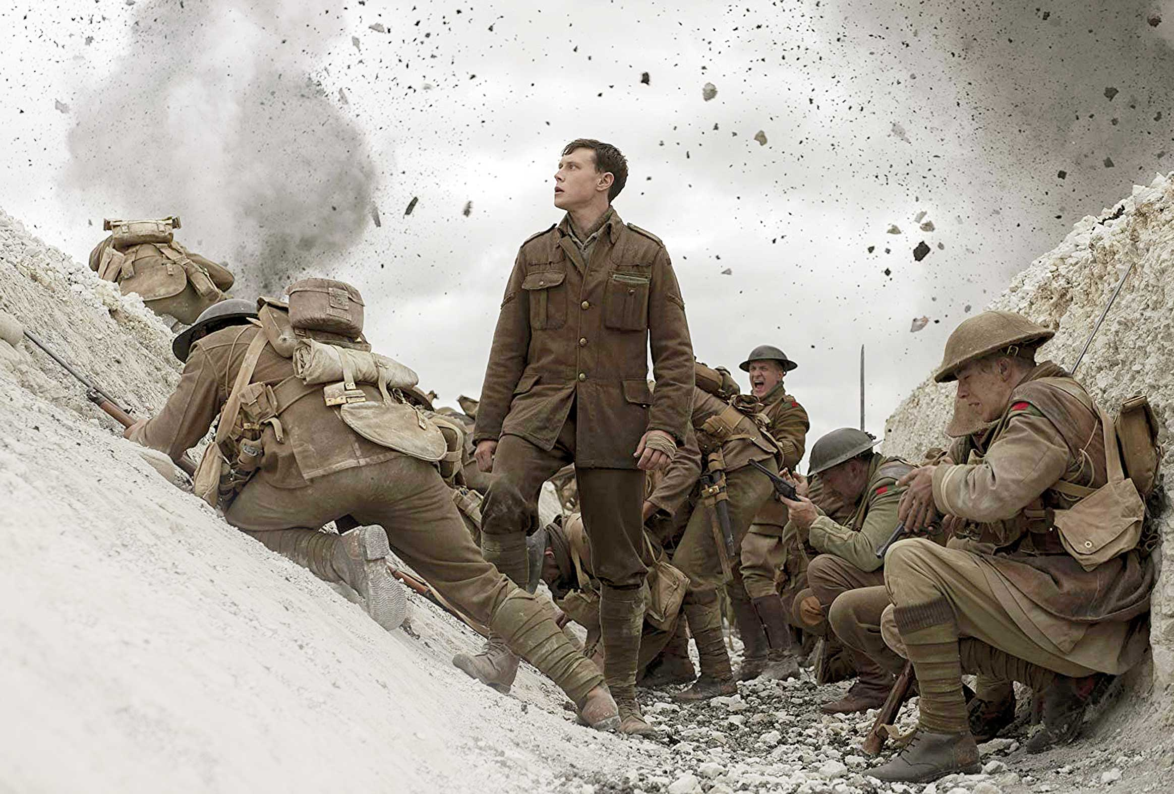 A still from the World War One epic '1917'