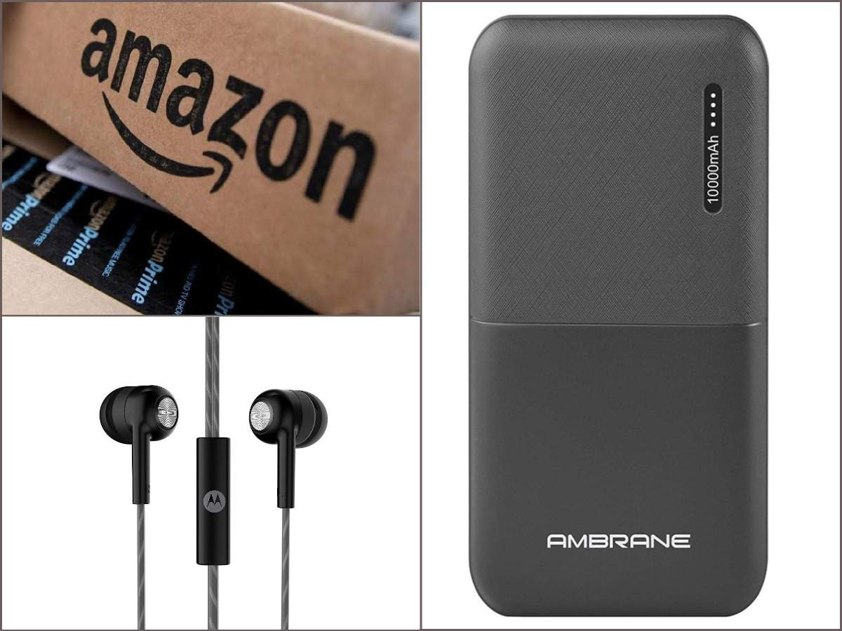 Last day of Amazon Great Indian Sale: Earphones, power banks and other gadgets at Rs 499 or less