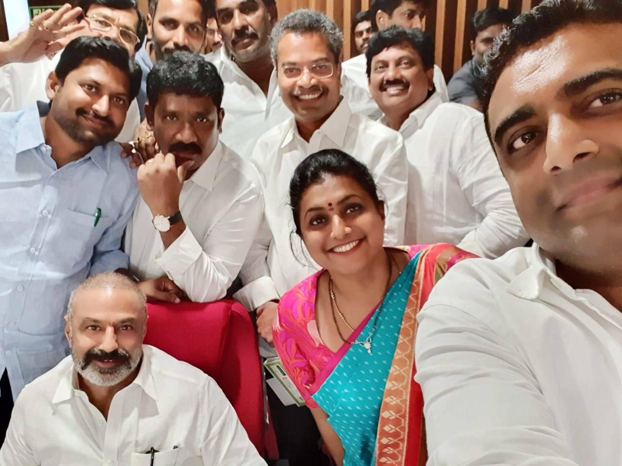Viral Pic: Nandamuri Balakrishna's impeccable craze among rival party MLAs  | Telugu Movie News - Times of India