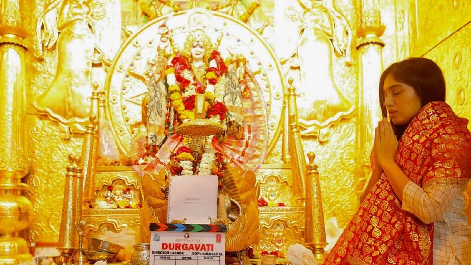 Bhumi Pednekar starts shoot for 'Durgavati'
