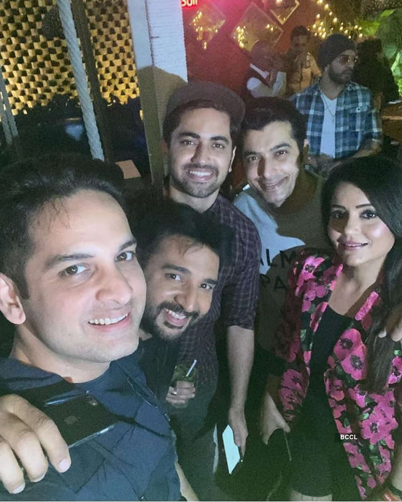 TV stars attend Sharad Malhotra's birthday party