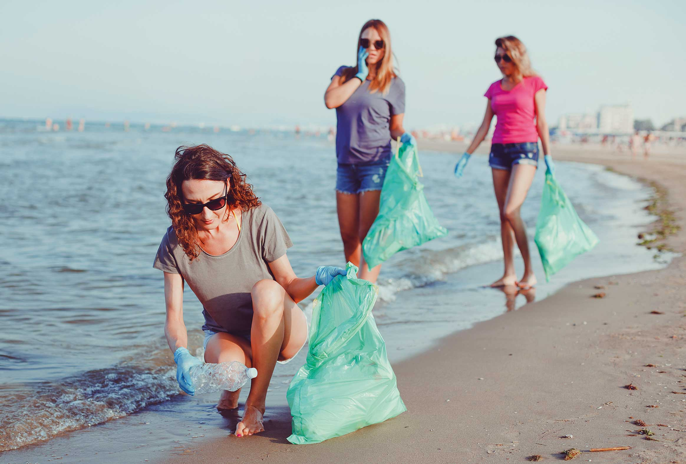 Eco-conscious travellers are keen to join beach clean-up drives