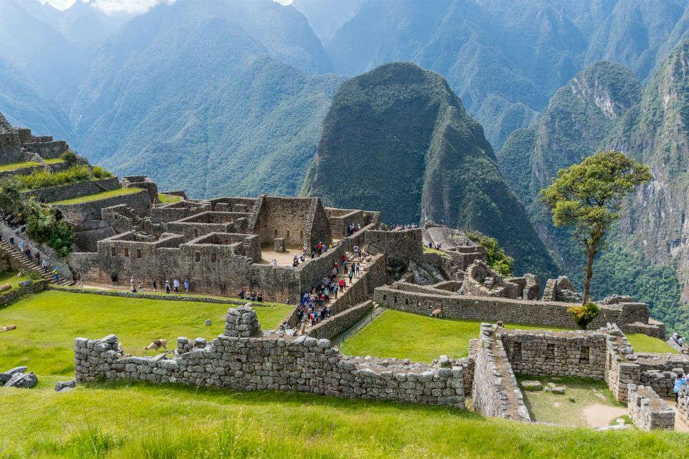 Peru to install cameras at Machu Picchu after tourists damage sacred property, Peru - Times of India Travel