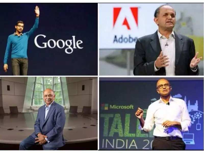 12 most-important Indian origin tech executives in the world