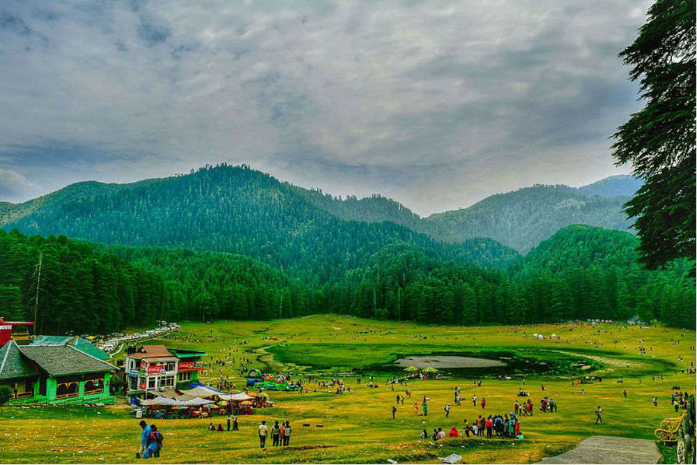 Khajjiar Lake in Himachal Pradesh is no more attractive | Times of ...