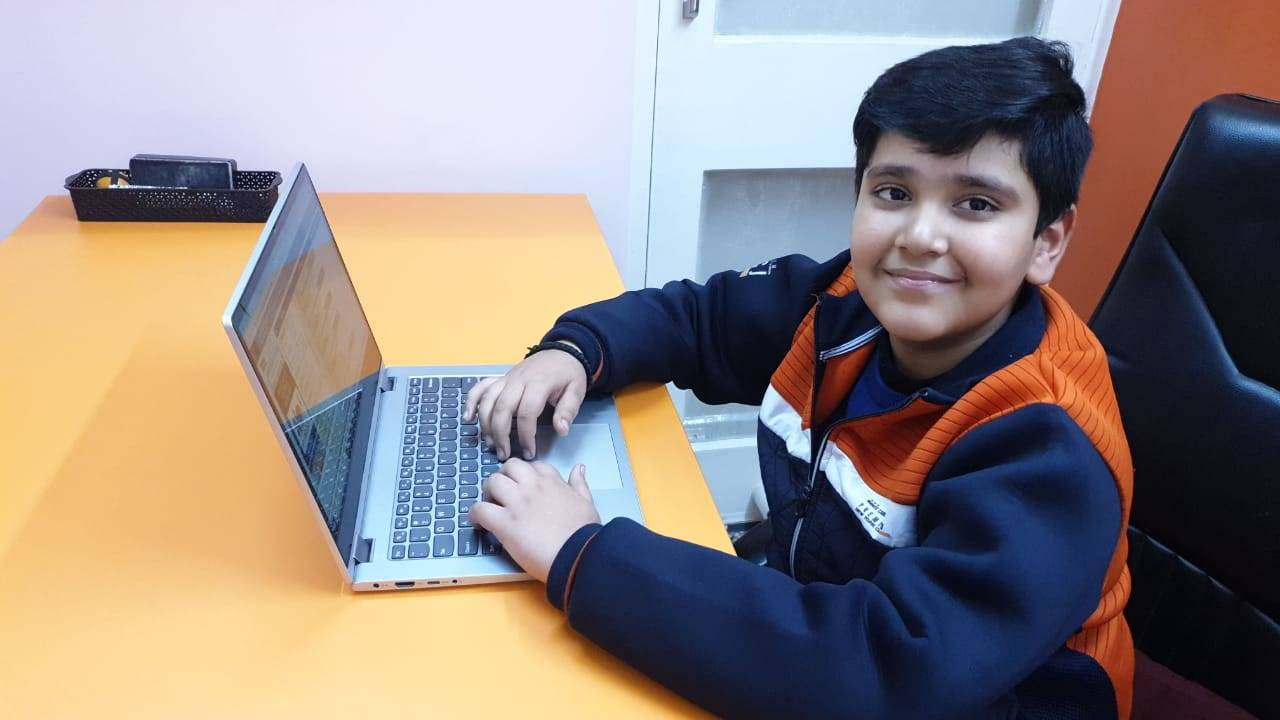 Nine-year-old Delhi boy creates app to tackle stress and anxiety