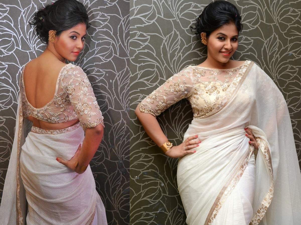 A Look At Five Tamil Actresses Who Make For A Dazzling Sight In White Sarees Tamil Movie News Times Of India