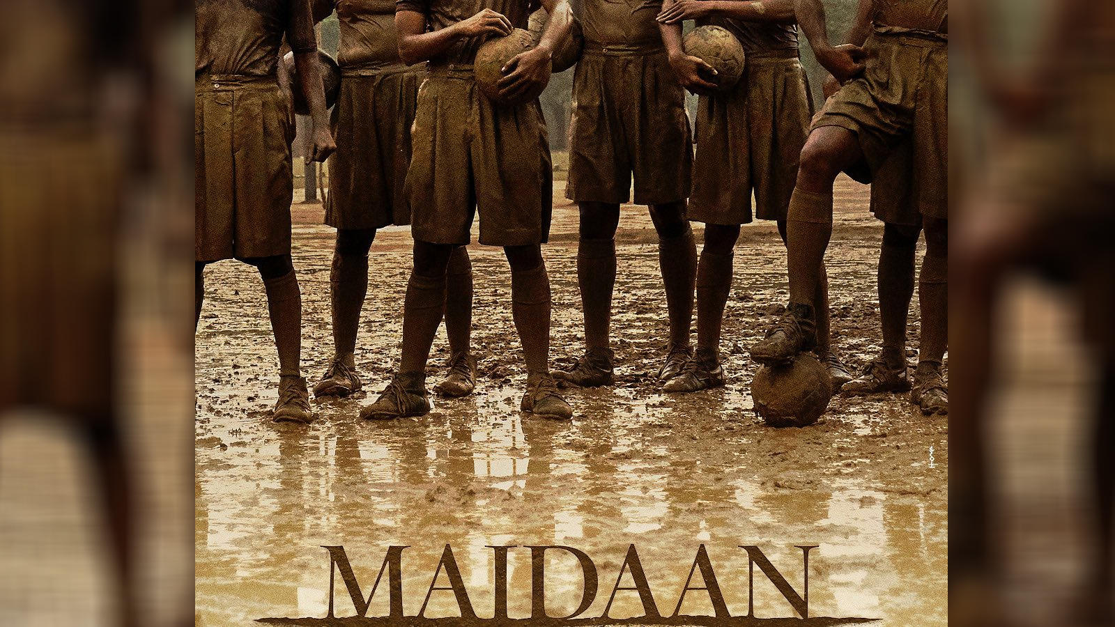 After the success of 'Tanaji:The Unsung Warrior', Ajay Devgn unveils teaser poster of 'Maidaan'