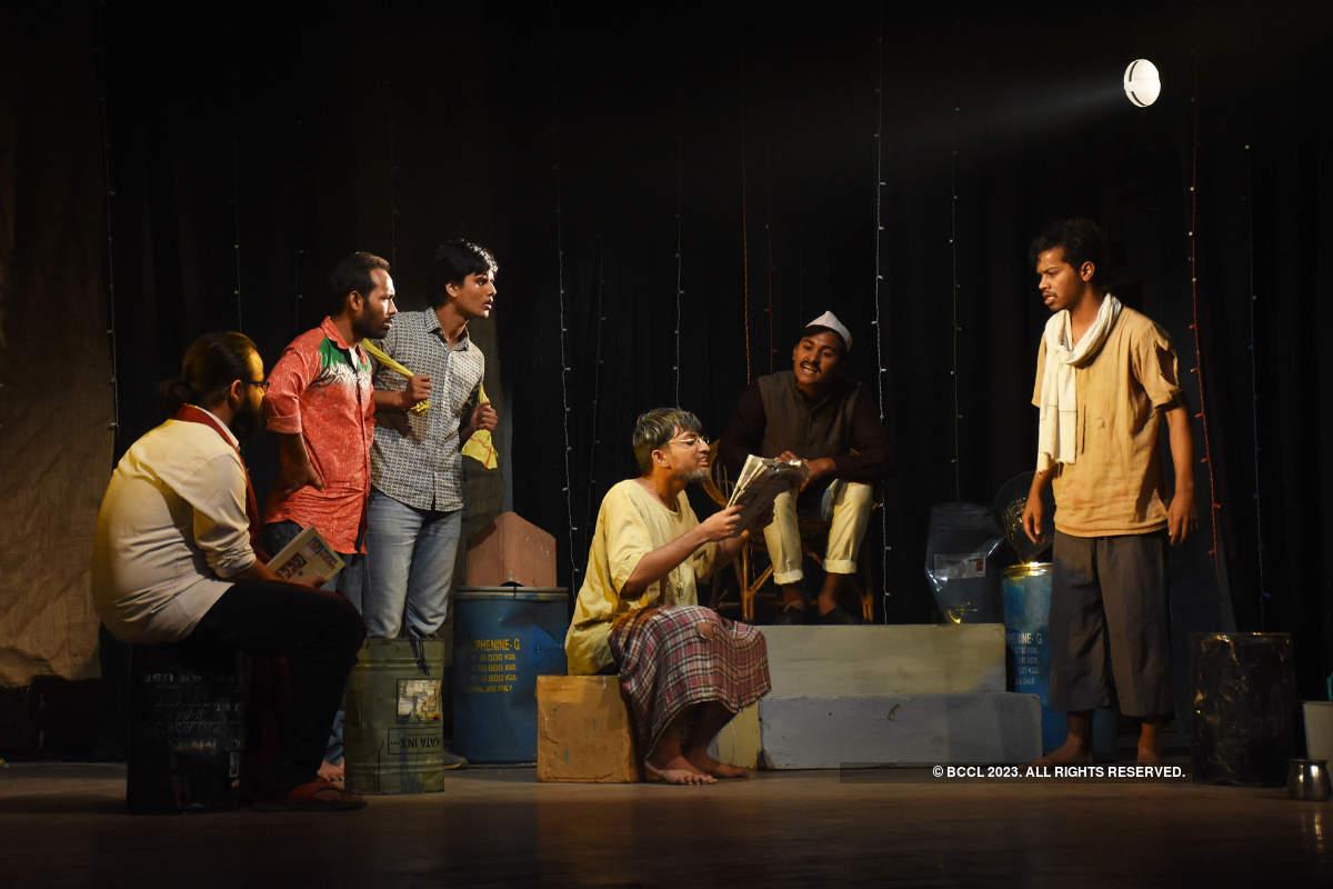 Thoda-Thoda Gandhi: A play