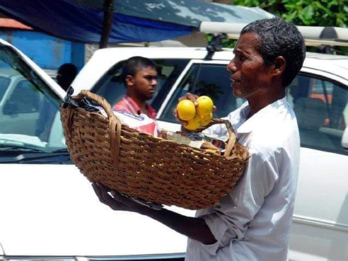 Orange seller Harekala Hajabba