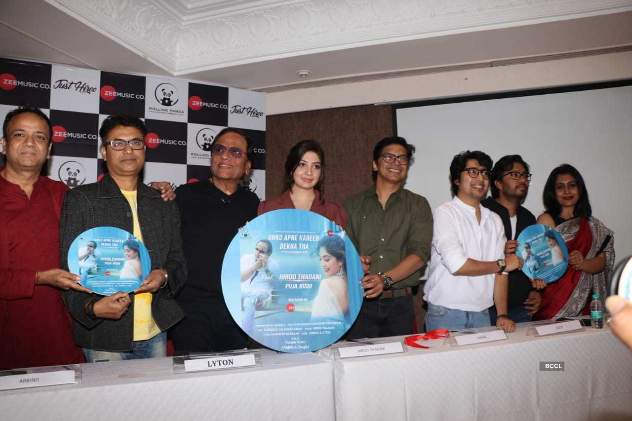 Singer Shaan launched Hiroo Thadani's single 'Unko Apne Kareeb Dekha Tha,' see pictures