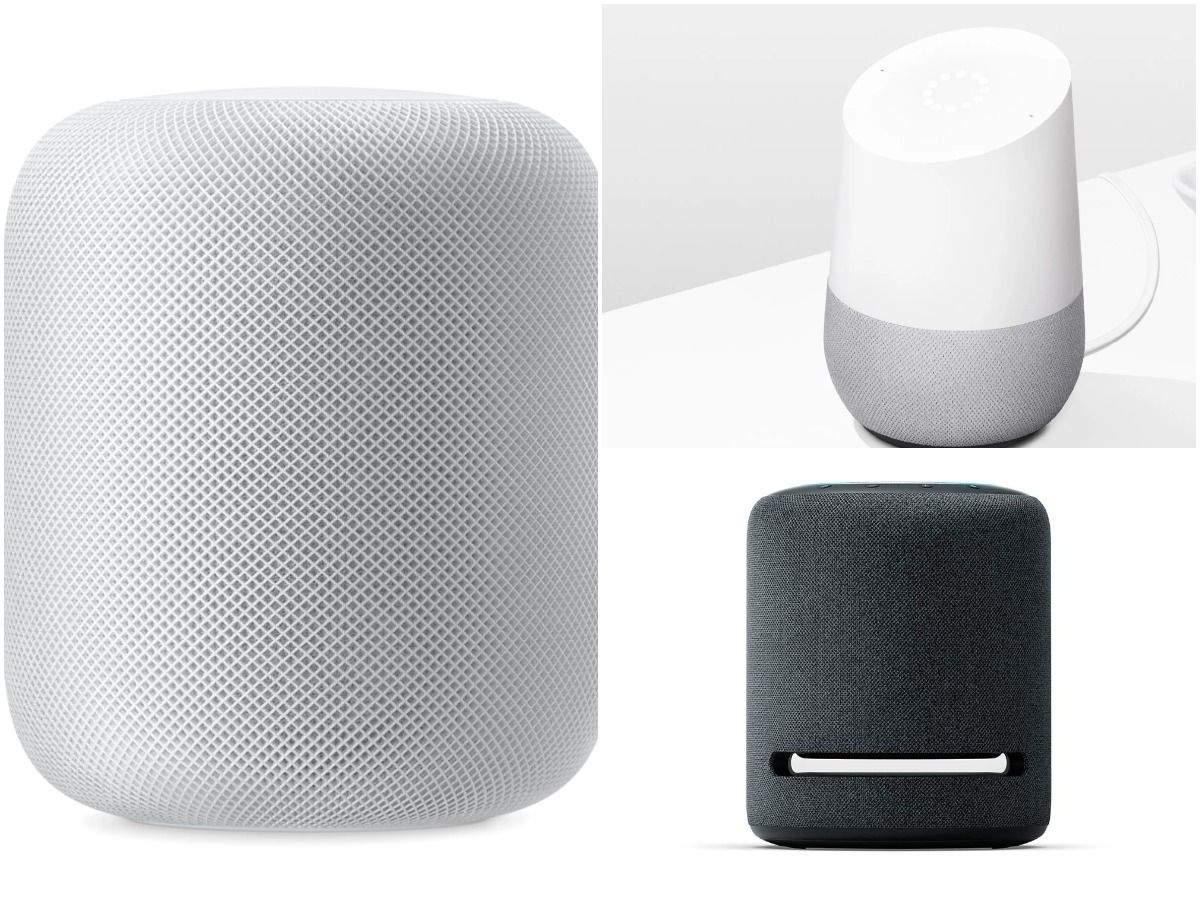 Apple HomePod vs Google Home vs Amazon Echo Studio: How the three smart speakers compare