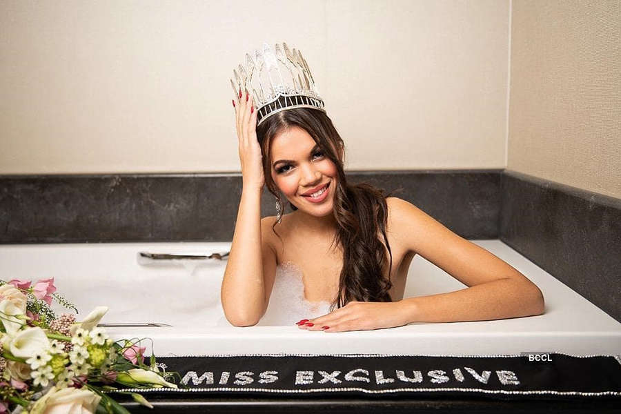 Kimbery Bosman crowned Miss Earth Belgium 2020