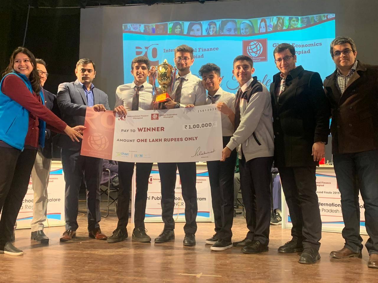 Karnataka students win at International Financial Olympiad