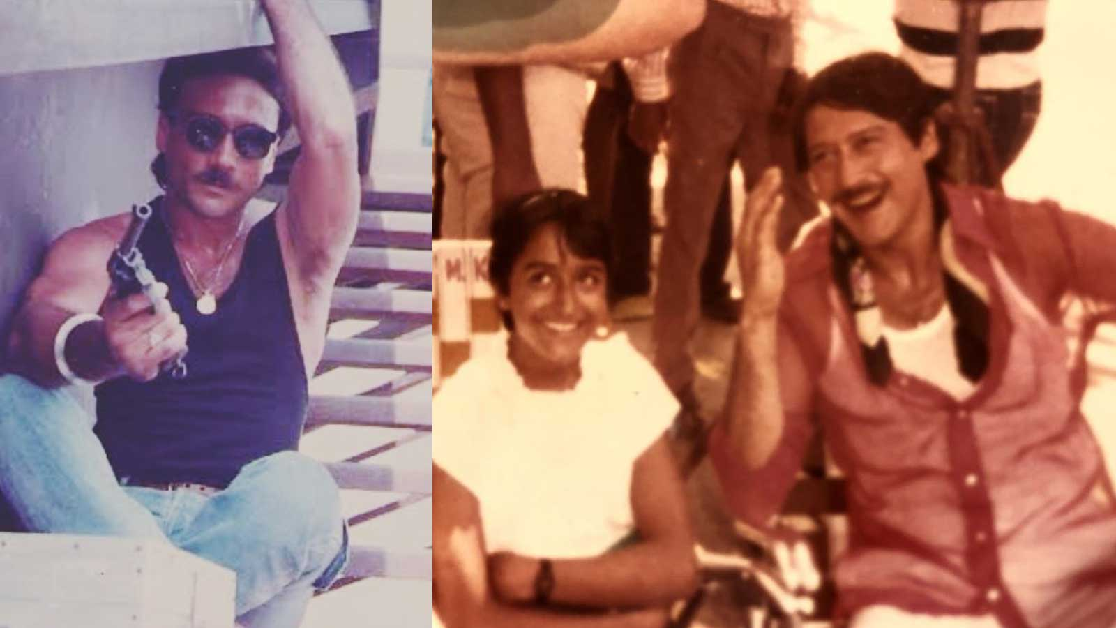 Tiger Shroff and Ayesha Shroff wish Jackie Shroff on his 63rd birthday with these adorable throwback pictures