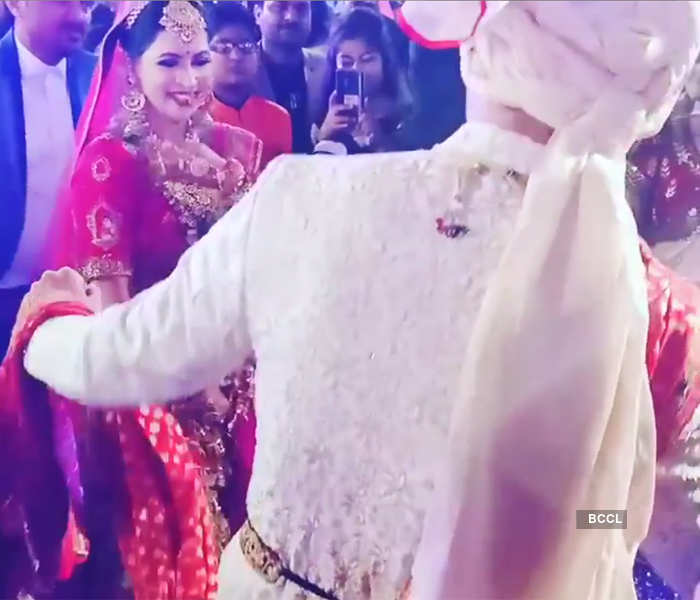 Inside pictures from 'Yeh Hai Mohabbatein' actor Anurag Sharma's wedding ceremony