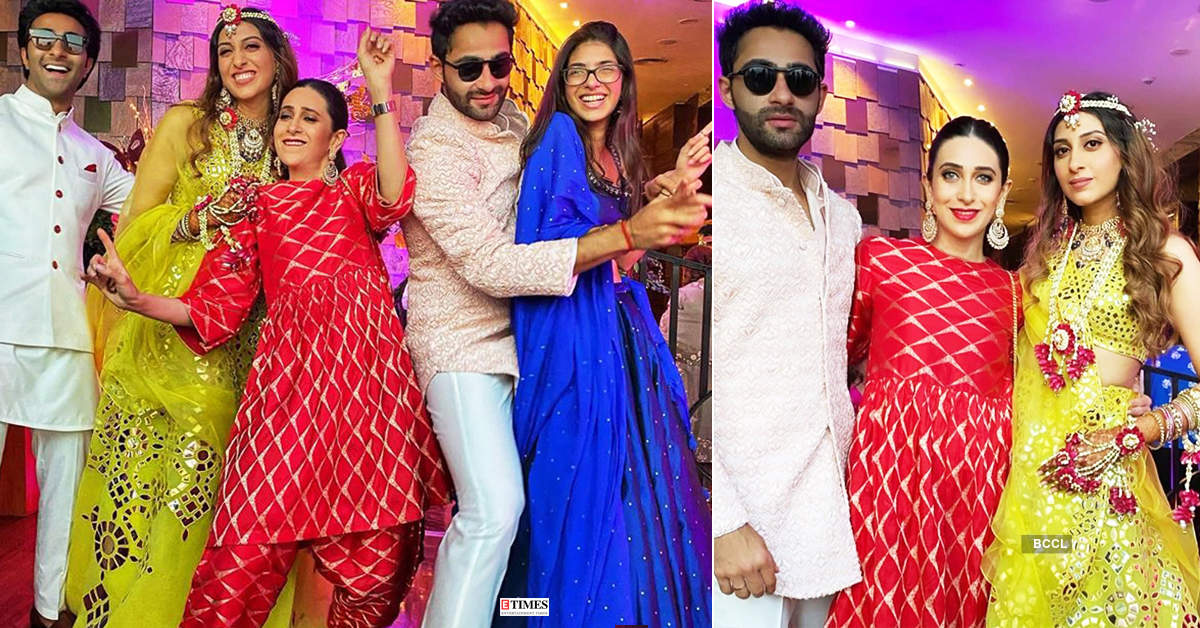 Lovely pictures from Armaan Jain & Anissa Malhotra's Sangeet ceremony go viral