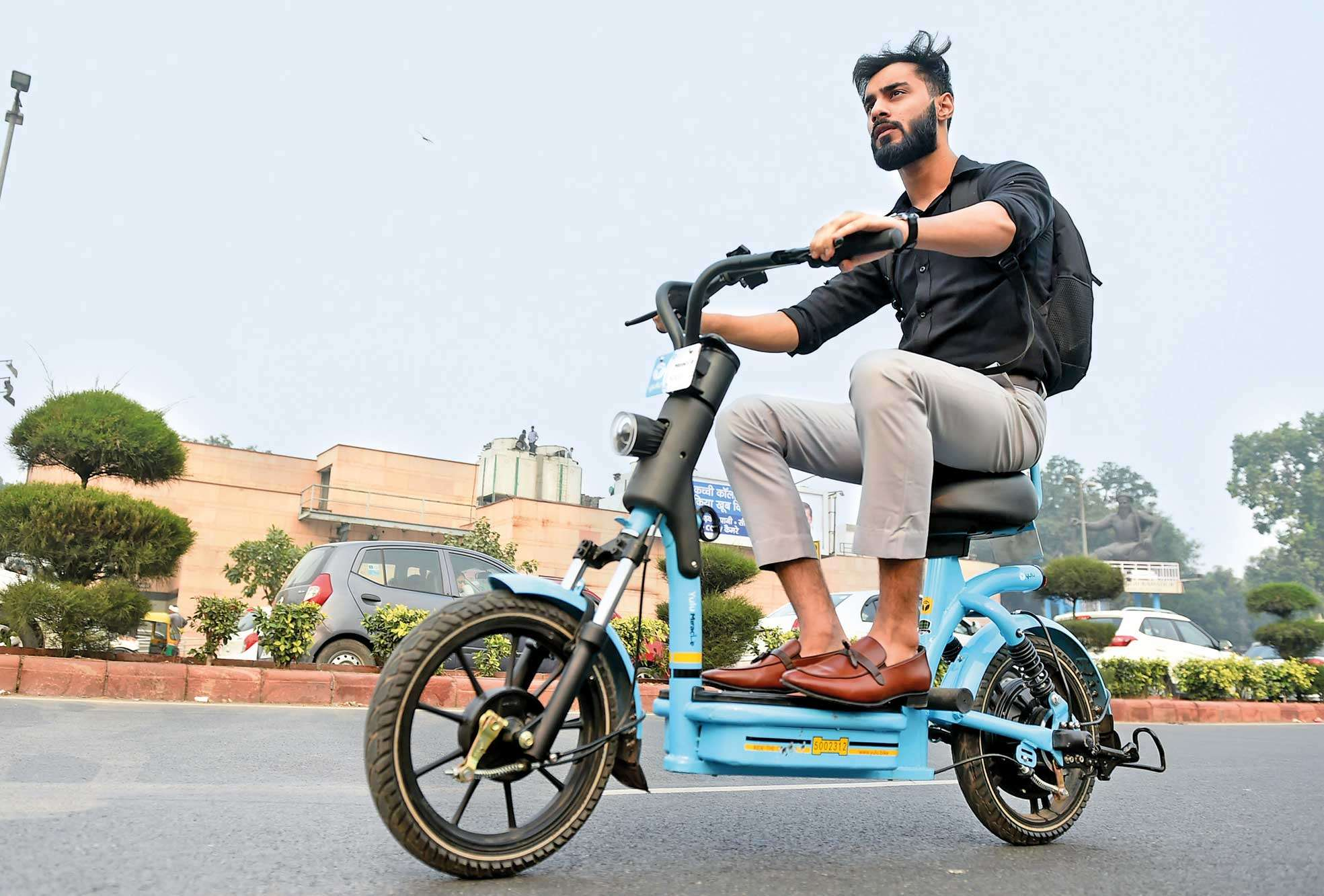 use e-bikes and scooters