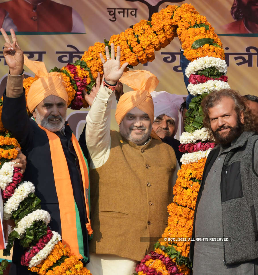 In pics: BJP intensifies poll campaign in Delhi