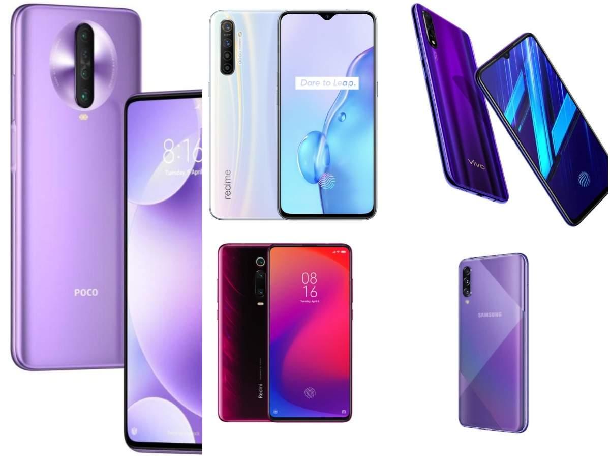Poco X2 vs Realme X2 vs Xiaomi Redmi K20 vs Vivo Z1x vs Samsung Galaxy A50s: Best smartphone under Rs 20,000