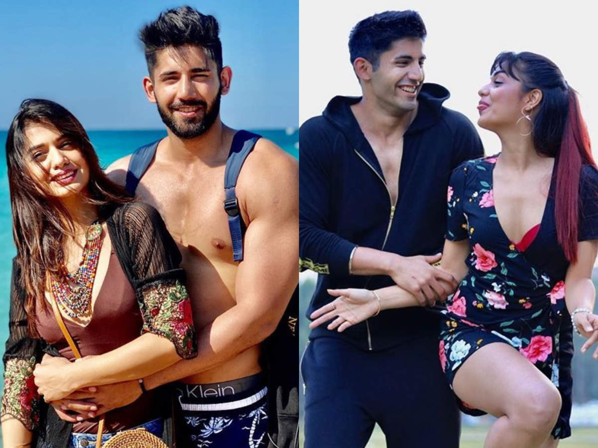 Ace of Space couple Divya Agarwal and Varun Sood celebrate one year of  live-in; take a look at their love-filled mushy pics | The Times of India