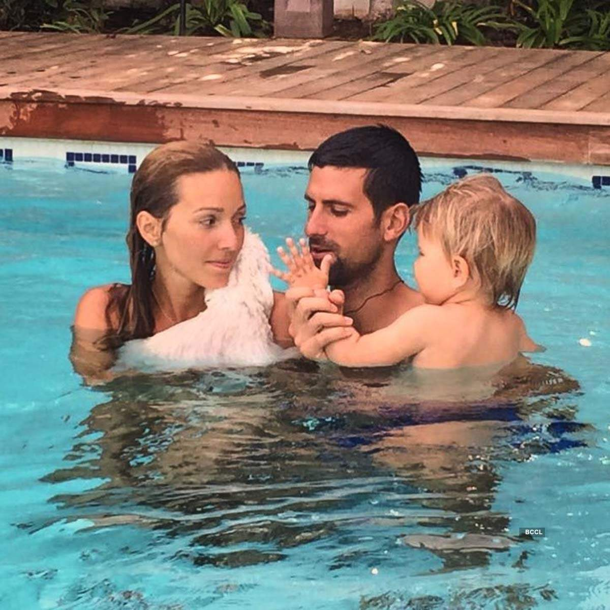 Romantic pictures of tennis ace Novak Djokovic and his gorgeous wife Jelena