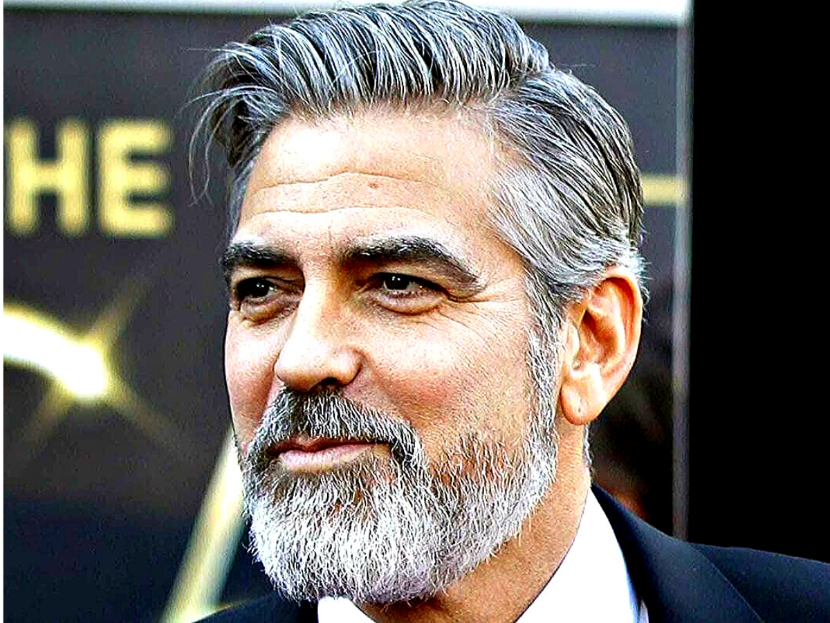 Risultato immagini per Studies Say That 72% Women Find Grey-Haired Men More Desirable Than Others