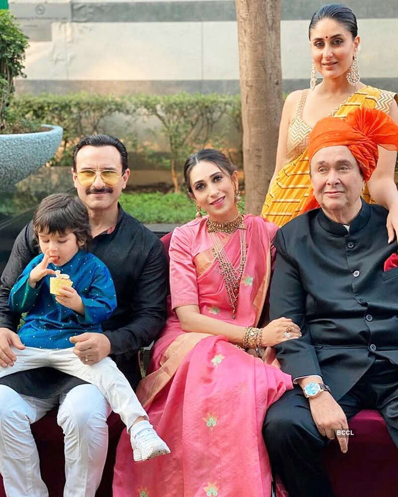 These pictures of Taimur from Armaan Jain's wedding are too cute to miss!