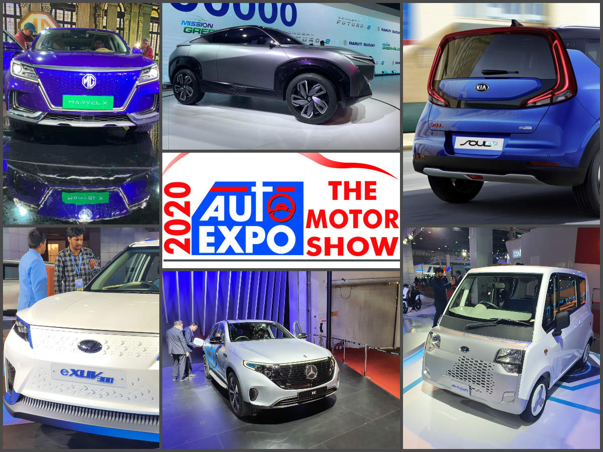 ​Auto Expo 2020: 11 electric cars from Maruti, Tata, Mercedes-Benz, Mahindra and other showcased