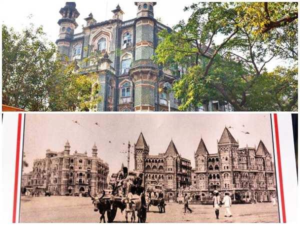 Majestic Amdar Nivas was once known as (below) Hotel Majestic