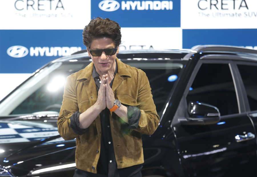 In pics: Shah Rukh Khan launches Hyundai Creta at Auto Expo 2020